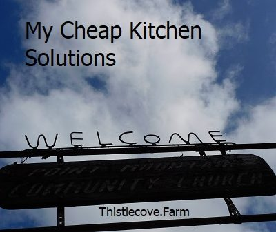 My Cheap Kitchen Solutions 💰